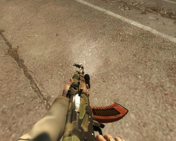 Скин AK-47 из всеми известной игры Metro 2033, теперь для Left 4 Dead 2.